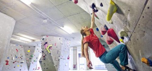 THE ARCH NORTH CLIMBING WALL