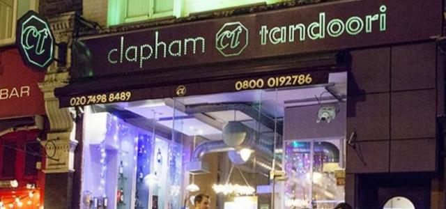 CLAPHAM TANDOORI (INDIAN RESTAURANT)
