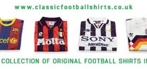 CLASSIC FOOTBALL SHIRTS (SPORTS CLOTHING)