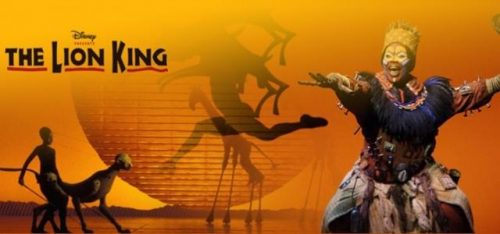 THE LION KING (WEST END MUSICAL)