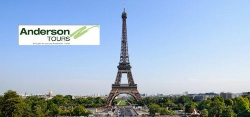 EUROPE & UK OVERNIGHT TOURS (ANDERSON TOURS)