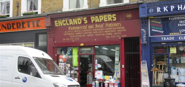 ENGLAND'S PAPERS (STATIONERY)