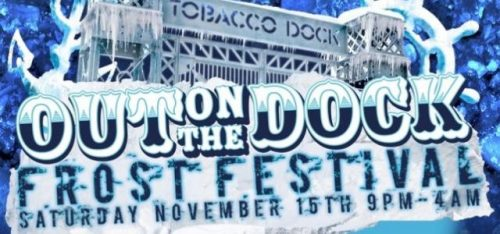 UPCOMING: WINTER PRIDE UK AWARDS & FROST FESTIVAL AT TOBACCO DOCK