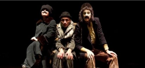 MIMETIC FESTIVAL: HOW A MAN CRUMBLED (THE VAULTS, WATERLOO)