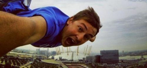 THE O2 ARENA BUNGEE JUMP