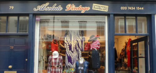 ABSOLUTE VINTAGE BOUTIQUE (VINTAGE CLOTHING SHOP)