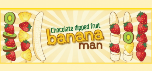BANANAMAN SPITALFIELDS (CHOCOLATE DIPPED FRUIT)