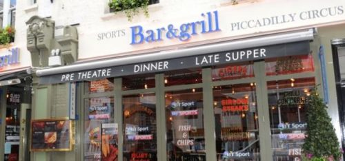 SPORTS BAR & GRILL PICCADILLY