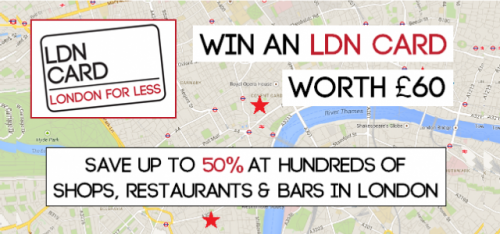 *COMPETITION* WIN AN LDN CARD