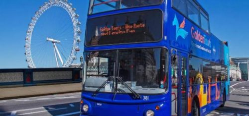 OPEN TOP BUS SIGHTSEEING TOUR (GOLDEN TOURS)