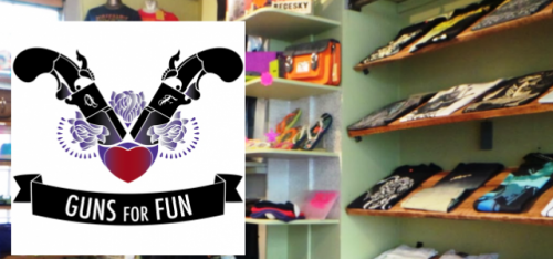 GUNS FOR FUN (CLOTHING SHOP)