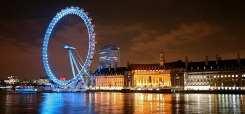 LONDON BY NIGHT OPEN TOP BUS TOUR (GOLDEN TOURS)
