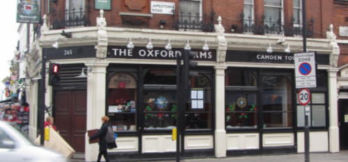 THE OXFORD ARMS (PUB FOOD)