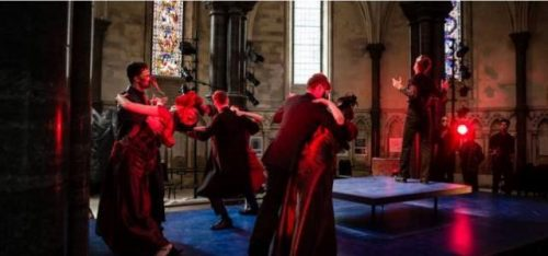 REVIEW: ROMEO & JULIET (TEMPLE CHURCH)
