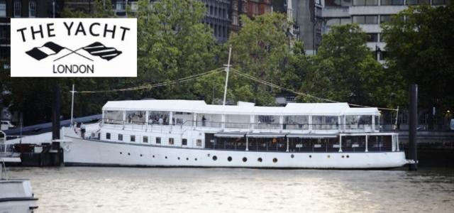 THE YACHT LONDON (RESTAURANT ON A BOAT)